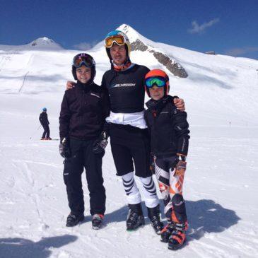 Skitest mit Felix und Fritz